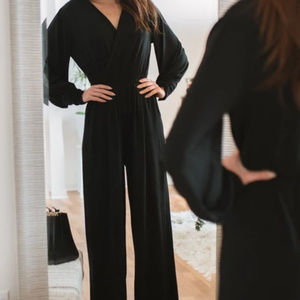 Amaryllis Up All Night Jumpsuit XL
